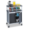 If you're in need of a beverage cabinet or foodservice cart for your business, we have what you need. Whether it's an attractive, designer, front-of-house beverage cabinet or a functional steel cart with shelves for the quick transport in your fast-paced kitchen, you can find exactly what you need in our online inventory.
