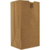 Kraft paper bags are a durable, cost-effective option for packaging and disposal. The strong, recycled paper protects contents from scratches and scuffing, and protects waste bins from leaks and tearing. Shop our inventory to find the right Kraft bags for your purposes.
