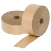 Paper tape utilizes a water-activated adhesive to create a permanent bond when used as a carton sealant. The seal is tamper-evident and tamper-resistant, as well as able to retain strength in extreme temperatures.