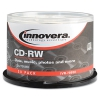 Cd-rw Discs, Rewritable, 700mb/80min, 12x, Spindle, Silver, 50/pack