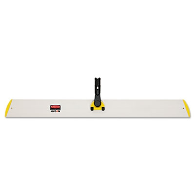 Hygen Quick Connect S-s Frame, Wet/dry Mop 18w X 3 1/2d, Aluminum, Yellow