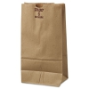 #6 Paper Grocery Bag, 50lb Kraft, Extra-heavy-duty 6 X 3 5/8 X 11 1/16, 500 Bags