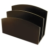 Eco-friendly Bamboo Curves Letter Sorter, 7 1/8 X 3 1/4 X 5 1/8, Espresso