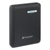 Dual Usb Power Pack Charger For Mobile Devices, 12000mah Battery Capacity, Black