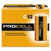Procell Alkaline Batteries, C, 12/box