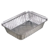 Oblong Aluminum Food Pans, 36oz, 8 7/16w X 5 15/16d X 1 13/16h, 400/carton