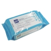 Nice 'n Clean Unscented Baby Wipes, 6 1/2 X 9, White, 80/pack, 12 Packs/ctn