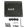 75 Mm To 100 Mm Conversion Plate Kit, Black