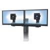 Tall-user Kit For Workfit-a/s/c Dual Display Workstations, Black