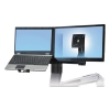 Workfit-a & Workfit-c Conversion Kit: Single Hd To Lcd & Laptop, Black