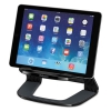 Tablet Riser, 8 3/8 X 5 3/8 X 4 5/8, Black/gray