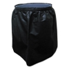Trash Can Skirt For 55 Gallon Round Receptacle, Black
