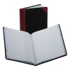 Record/account Book, Journal Rule, Black/red, 150 Pages, 9 5/8 X 7 5/8