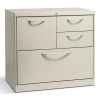 Flagship File Center W/box/file/lateral File Drawers, 30w X 18d X 28h,light Gray