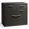 Flagship File Center W/box/file/lateral File Drawers, 30w X 18d X 28h, Charcoal