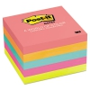 Original Pads In Cape Town Colors, 3 X 3, 100-sheet, 5/pack