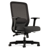 Vl721 Series Mesh Executive Chair, Mesh Back, 100% Polyester Seat, Black