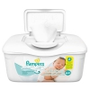 Sensitive Baby Wipes, White, Cotton, Unscented, 64/tub