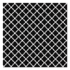 "Fadeless Designs Bulletin Board Paper, Classic Moroccan Black, 48"" X 50 Ft."