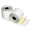 "Two-ply Credit/debit Verification Rolls, 2-1/4"" X 70 Ft., White/canary, 50/ctn"