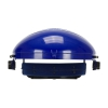 Bouton Optical® Headgear For Visor Blue With Adjustable Ratchet Suspension
