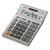 Dm1200bm Desktop Calculator, 12-digit Lcd, Silver