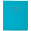 Fashion Casebound Business Notebook, 11 X 9, Teal, 80 Sheets