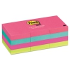Original Pads In Cape Town Colors, 1 1/2 X 2, 100-sheet, 12/pack