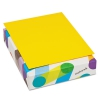 Britehue Multipurpose Colored Paper, 20lb, 8 1/2 X 11, Sun Yellow, 500 Sheets