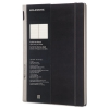 Professional Notebook, Workbook, Ruled, 11 3/4 X 8 1/4, Black Cover, 176sheets