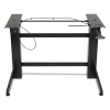 Workfit-b Sit-stand Workstation Base, Heavy-duty, 88 Lbs. Max Weight Cap, Black