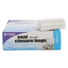 Zip-seal Closure Bags, Clear, 4 X 4, 1000/carton