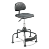 Taskmaster Series Economahogany Industrial Chair, Black