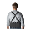 "Pip® Back Support Belt Large Nylon Mesh Fabric Black 9"" Belt Width Elastic Back Panel W/ 5 Back Stays"