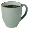 Bistro Mugs, 15 Oz, Sea Foam Green, Ceramic, 6 Per Box