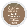 Cafe Escapes Milk Chocolate Hot Cocoa K-cups, 24/box