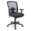 Etros Series Mesh Mid-back Petite Swivel/tilt Chair, Black