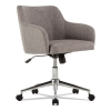 Captain Series Mid-back Chair, Gray Tweed