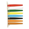 Status Flags, 8 Flags, Assorted Colors