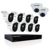 16 Channel Extreme Hd Video Security System, 3mp Resolution