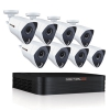 8 Channel Extreme Hd Video Security Dvr, 3mp Resolution