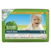 Free And Clear Baby Diapers, Size 2, 12 Lbs To 18 Lbs, 144/carton