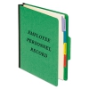 Personnel Folders, 1/3 Cut Top Tab, Letter, Green