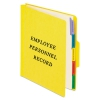 Personnel Folders, 1/3 Cut Top Tab, Letter, Yellow