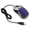 Optical Hd Precision Gel Mouse, Five-button/scroll, Blue/silver