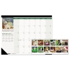 Recycled Puppies Photographic Monthly Desk Pad Calendar, 22 X 17, 2018
