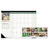 Recycled Puppies Photographic Monthly Desk Pad Calendar, 18 1/2 X 13, 2018