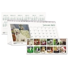Recycled Puppy Photos Desk Tent Monthly Calendar, 8 1/2 X 4 1/2, 2017