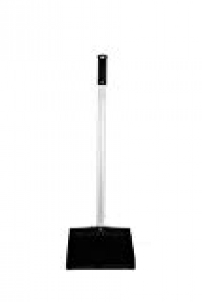 Janico Inc Lobby Dustpan Black Aluminum Handle 40 Inch Overall Length (1)