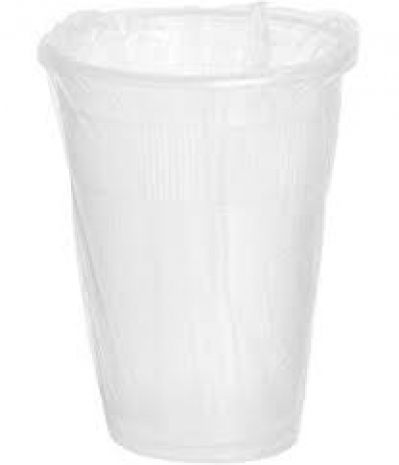 Rdi 9 Oz. Disposable Wrapped Cold Cup, Plastic, Clear, Pk 1000 (pk/1000) Model: Cp-pl-9-03